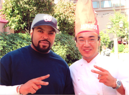 Ice Cube, left, and Japa Dog Man