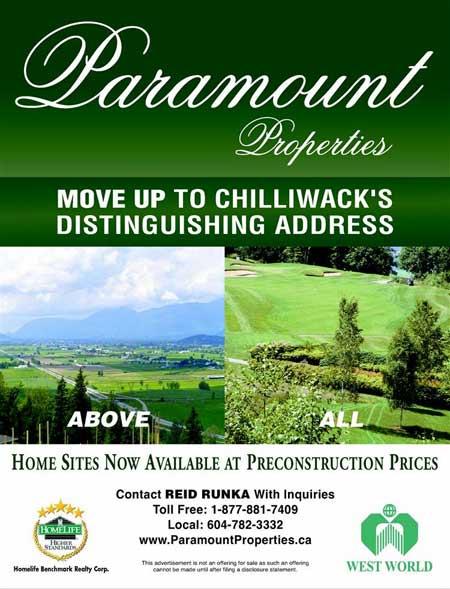 Paramount Properties - Chilliwack, BC