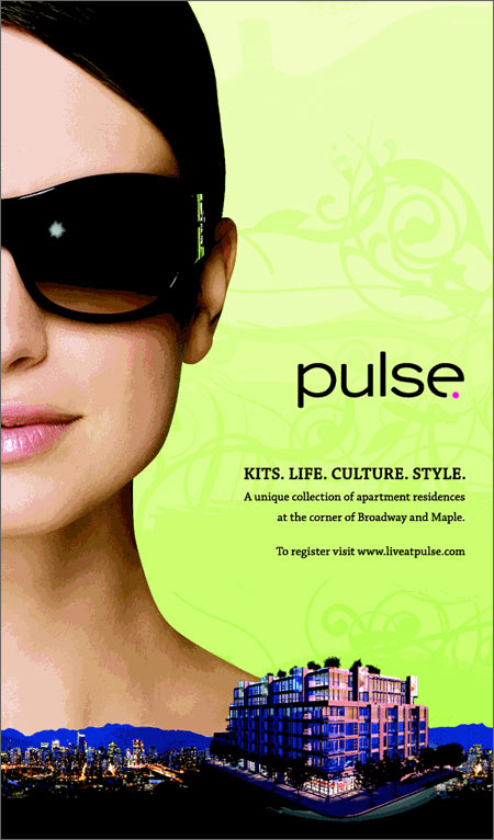 Advertisement for Pulse