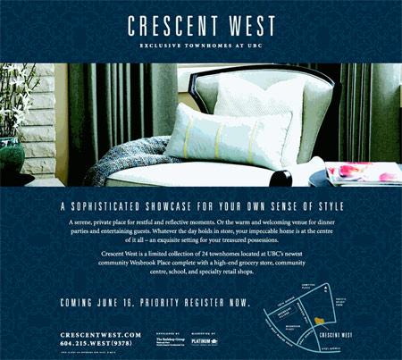 Crescent West, UBC, Vancouver