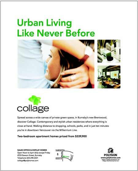Collage | Urban living like never before