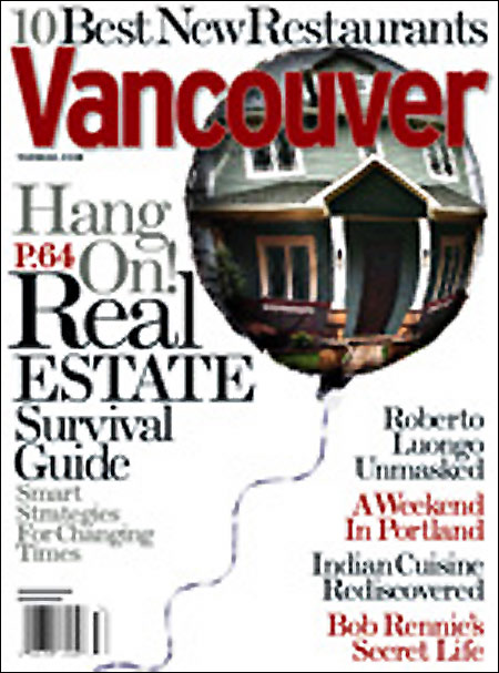 Vancouver Magazine | April 2008