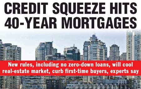 Credit squeeze hits 40-year mortgages