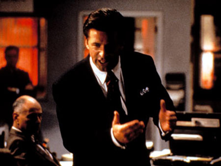 "Alec Baldwin in ""Glengarry Glen Ross"""